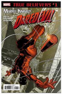True Believers Daredevil #1 by Smith Quesada & Palmiotti (Marvel, 2018) NM
