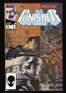 Punisher (1986) #2 VF- 7.5