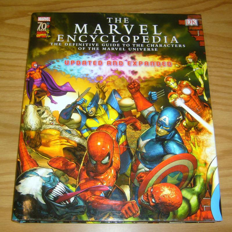 Marvel Encyclopedia: Updated and Expanded HC VF/NM hardcover definitive guide