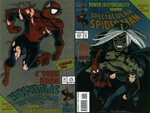 Spectacular Spider-Man, The #217SC VF; Marvel   save on shipping - details insid