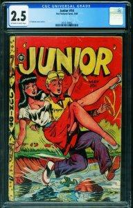 Junior #14 CGC 2.5 1948- Al Feldstein Good Girl Art 2053120002