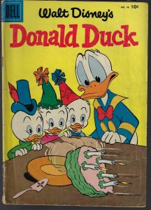 Donald Duck #46 (Dell, 1952) VG to VG+