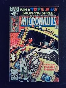 Micronauts #22 (1980)