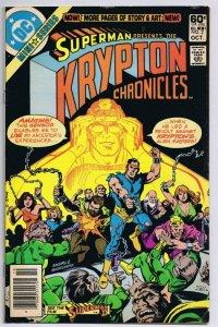 Superman Krypton Chronicles #2 ORIGINAL Vintage 1981 DC Comics