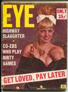 Eye 11/1966-short running title-cheesecake pix-VG