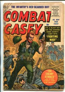 COMBAT CASEY #29 ATLAS WAR HERO SERIES 1956 POWELL ART FR/G