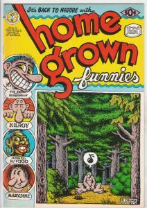 Home Grown Funnies #1 (Jan-71) NM- High-Grade Whiteman, Big Foot, Mary Jane, ...