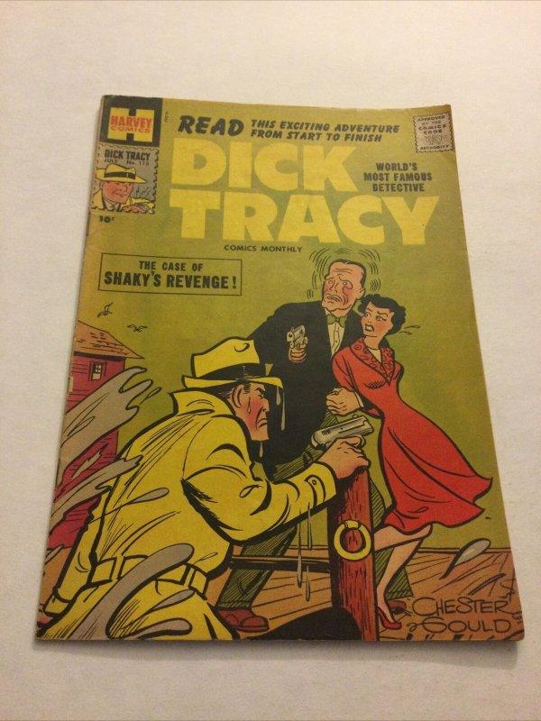 Dick Tracy 113 Vg Very Good 4.0 Harvey Comics