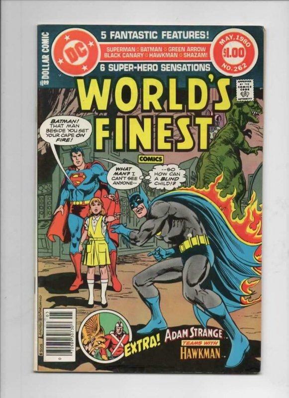 WORLD'S FINEST #262, FN, Batman, Superman, 1941 1980, more in store