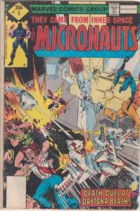 Micronauts (Vol. 1) #3 (2nd) FN; Marvel | save on shipping - details inside