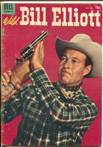 Wild Bill Elliott #15 1954-Dell-B-Western film star-western art-VG