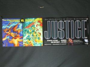 Justice DC Comics Promo Poster- ALEX ROSS 34x11