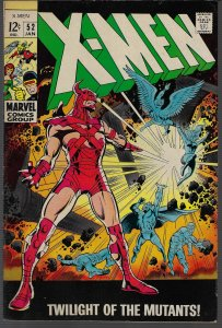 X-men #52 (Marvel, 1969) F/VF