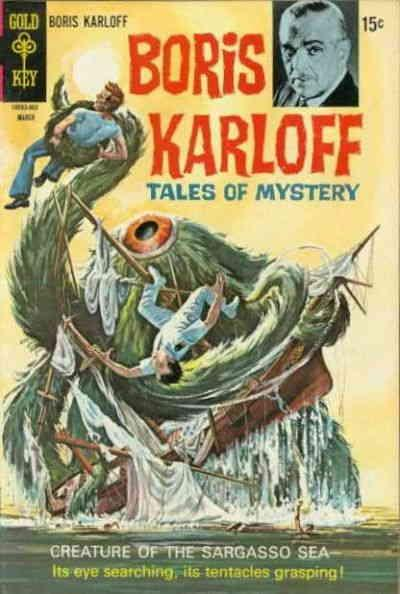 Boris Karloff Tales of Mystery #29 FN; Gold Key | save on shipping - details ins