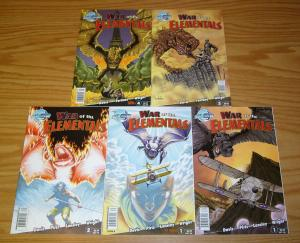 War of the Elementals #1-4 VF/NM complete series + variant 2008 BLUEWATER 2 3