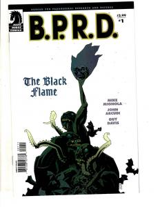 10 Dark Horse Comics BPRD # 1 2 3 4 5 6 Black Flame + Aeon Flux # 1 2 3 4  JC11