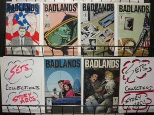 BADLANDS (1991 DH) 1-6  The Kennedy shooting...