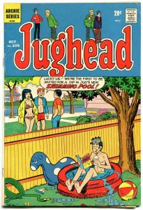 Jughead Comics #209 1972- Archie- Betty & Veronica- Josie comic on cover VG