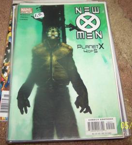 New X-Men  #149 (Jan 2004, Marvel) planet x pt 4 magneto zorn