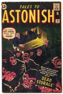Tales To Astonish #33 1962 Steve Ditko-Jack Kirby VG+