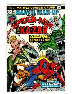 MARVEL TEAM UP 19 FINE  March 1974