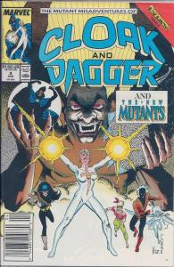 Cloak and Dagger (1985 Marvel 2nd Series) #4 NM