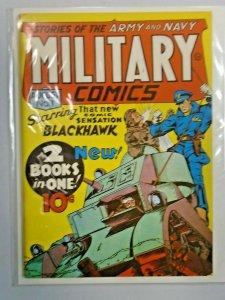 Flashback #05 Military Comics 1 grade 7.0? (1941 1974)