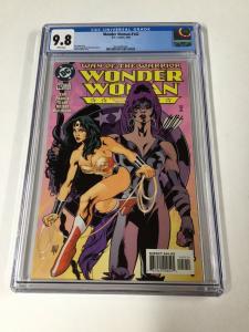 Wonder Woman 142 Cgc 9.8 White Pages Dc Adam Hughes Ah! Cover Art