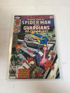 Marvel Team-up 86 Spider-man And The Guardians Of The Galaxy Nm Near Mint 9.4