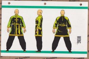 Official Handbook of the Marvel Universe Sheet- Wong