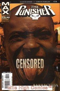 PUNISHER MAX (2004 Series) #34 Near Mint Comics Book