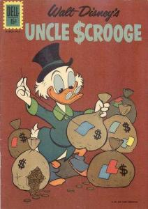 Uncle Scrooge #37, VG- (Stock photo)