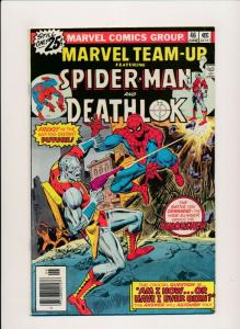 Marvel Team-Up SPIDER-MAN & DEATHLOK Vol 1 #46 1976 F (PF398)