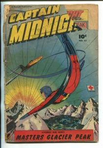 CAPTAIN MIDNIGHT #361-1948-FAWCETTAVIATION-CRIME-SUPER HERO-fr