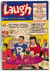 Laugh Comics #67 1955- Archie-Betty-last pre-code issue P/F