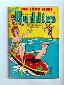 Hello Buddies #61 Unread Harvey Digest Comic Book 1953 VF