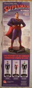SUPERMAN STATUE Promo poster, 11x34, 2003, Unused, more Promos in store