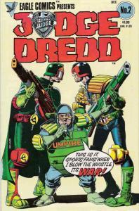 Judge Dredd (Vol. 1) #2 VF/NM; Eagle | save on shipping - details inside