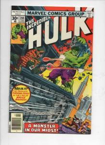 HULK #208, VF+, Incredible, Bruce Banner, Monster, 1968 1977, Marvel