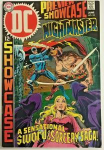 SHOWCASE#83 VF 1969 SIGNED BY BERNI WRIGHTSON DC SILVER AGE COMICS