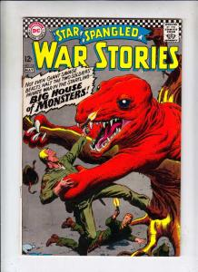 Star Spangled War Stories #132 (May-67) VG+ Affordable-Grade Dinosaur