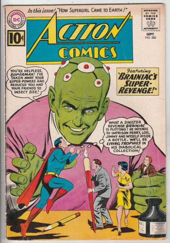 Action Comics #280 (Sep-81) FN Mid-Grade Superman