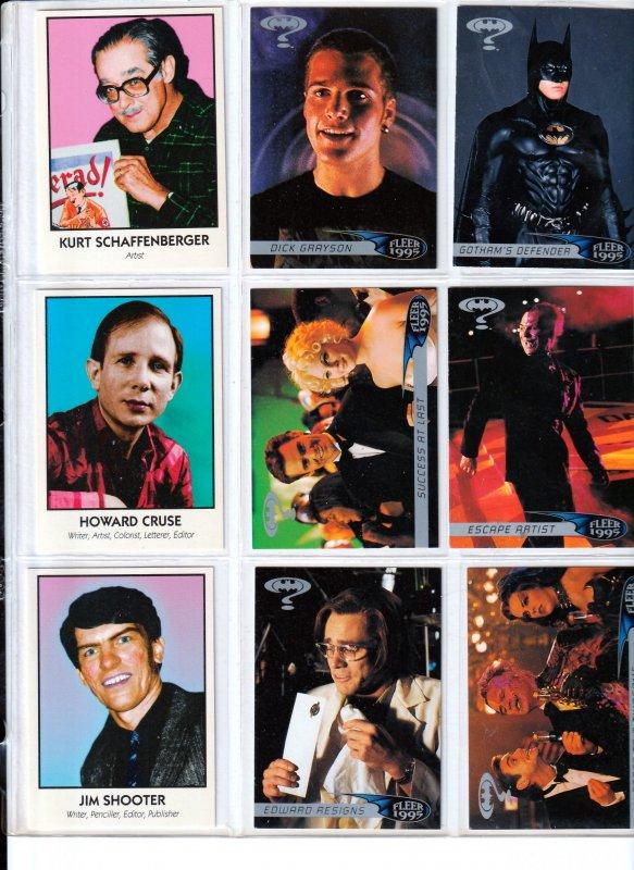 Batman Forever/Famous Comic Creators TC