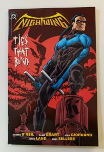 NIGHTWING TIES THAT BIND TPB SOFT COVER FIRST PRINT NM DC COMICS