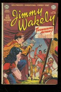 JIMMY WAKELY #10 1951-DC COMICS-ALEX TOTH-GIL KANE-RARE VG
