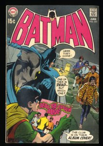 Batman #222 GD/VG 3.0 Beatles Cover!