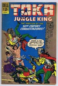 Toka Jungle King #8 ORIGINAL Vintage 1966 Dell Comics