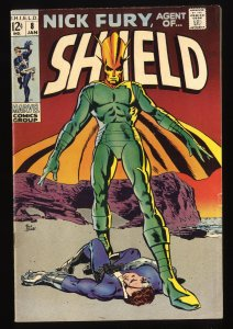 Nick Fury, Agent of SHIELD #8 FN- 5.5 Marvel Comics