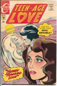 Teen-Age Love #74 1971-Charlton-Jonnie Love-spicy art-VG/FN