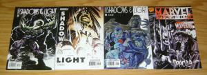 Shadows & Light #1-3 VF/NM complete series + one-shot - wrightson starlin marz